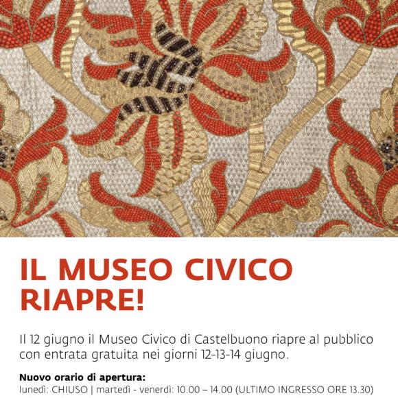 Il 12 giugno il Museo Civico di Castelbuono riapre al pubblico con entrata gratuita nei giorni 12-13-14 giugno