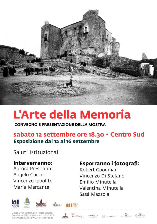 """""""L'Arte della Memoria"""" Mostra fotografica e convegno"""