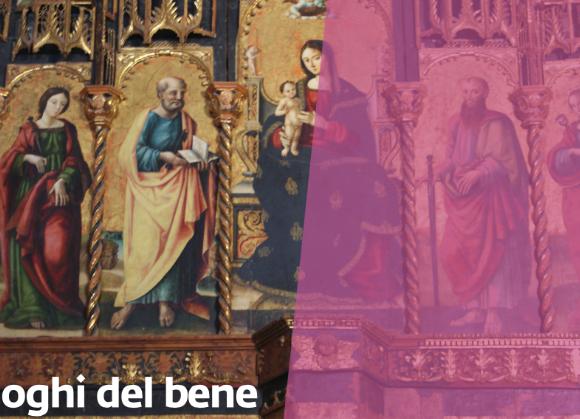 """I Luoghi del Bene: Incontro """"La Matrice Vecchia e i 500 anni del suo Polittico""""."""