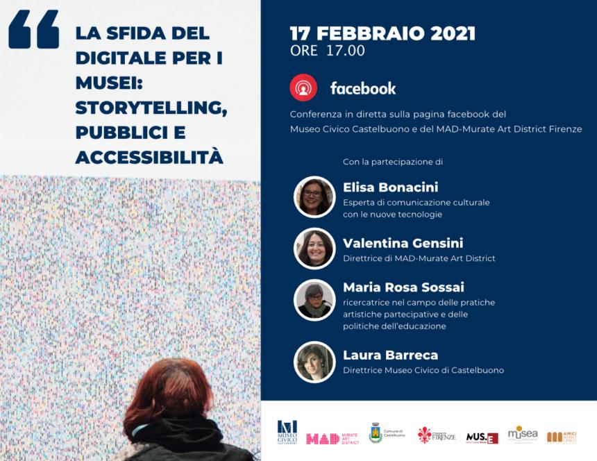 """""""La sfida del digitale per i musei: storytelling, pubblici e accessibilità"""""""