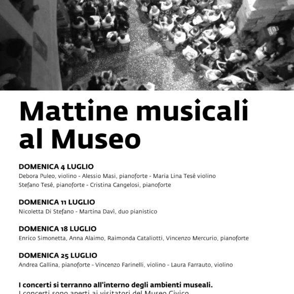 """""""Mattine Musicali al Museo"""" • Ciclo di Concerti del Conservatorio """"A. Scarlatti"""" di Palermo"""