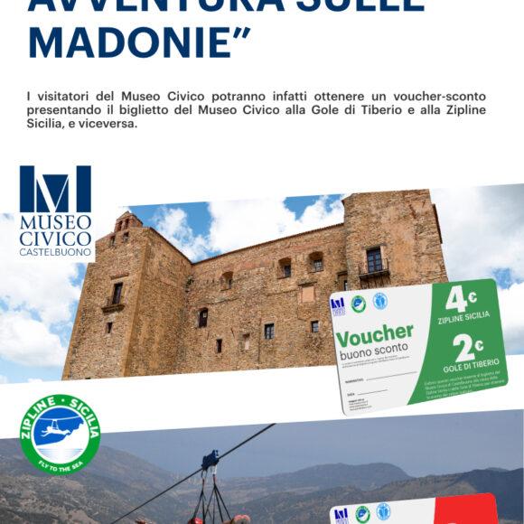 """Arte, Natura, Avventura sulle Madonie"""" • Una collaborazione tra il Museo Civico di Castelbuono, le Gole di Tiberio e la Zipline Sicilia"""