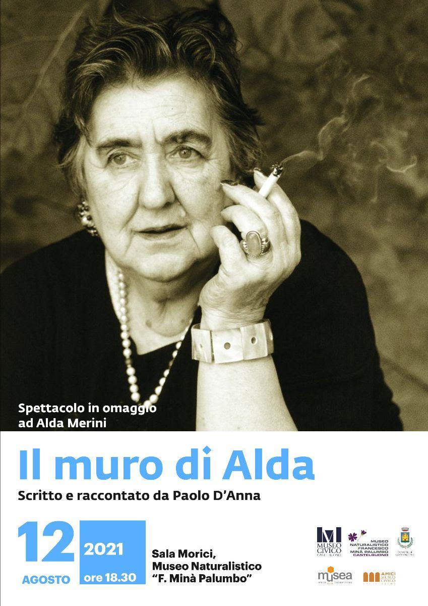 Spettacolo al Museo: Il muro di Alda. Un ricordo di Alda Merini.